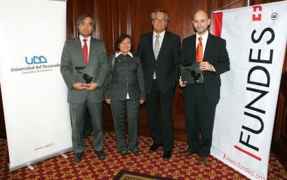 Claudio Andrés del Campo, Irma Gutiérrez, Ulrich Frei y Ernesto Amorós