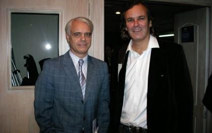 Claudio Hohmann y José Miguel Benavente