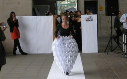 Desfile de modas en papel