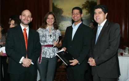 Ernesto Amorós, Erica Salvaj, Marcel Pérez y Rafael Romero.