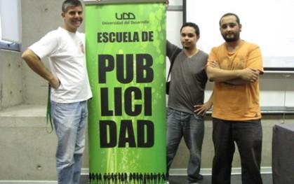 Sergio Gamboa junto a dupla ganadora