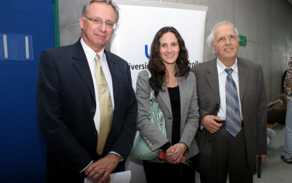 José Manuel Robles, Nickolas Themelis y Paula Estévez