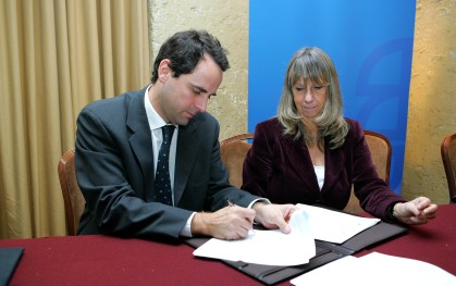 Rodrigo Castro y Silvia de Torres
