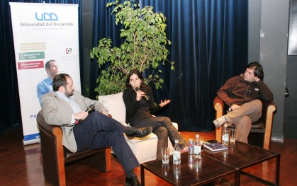 Carlos Varela,  Verónica Cabezas y Julián Ugarte