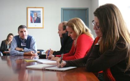Primeras reuniones en Chiloé