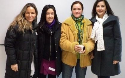 Carolina Pesce, Daniela Torres, Ma. José Villarroel, Katherine Marín.