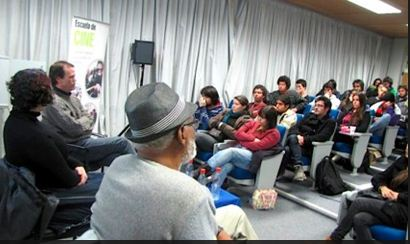 Alumnos de Cine UDD