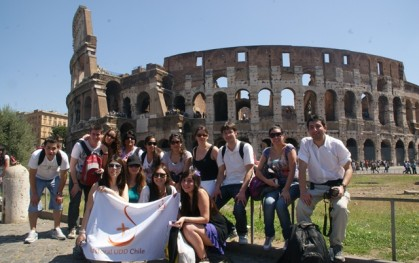 Delegación de Embajadores de la Fe en Roma