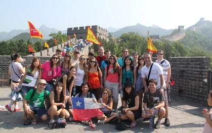 Delegación en Asia