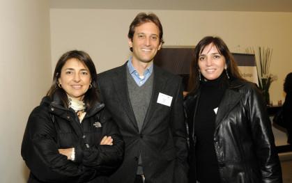 Ximena Katz, Felipe Custer y Patricia Pfau