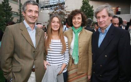 Eduardo Chadwick, Alejandra Chadwick, María Soledad Chadwick y Javier Covarrubias
