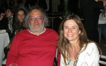 Luis Tapia y María Elisa Molina