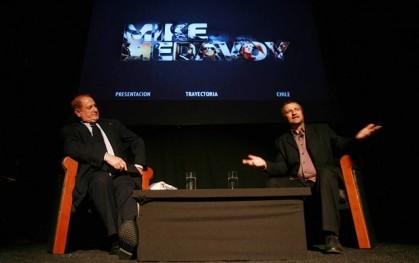Mike Medavoy y Marcelo Ferrari