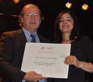 Pablo Vial y Erika Morales