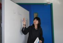 Profesora del curso de chino