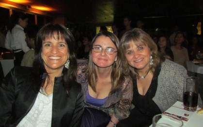 Teresita Serrano,  Marcela Aravena y Perla Ben-Dov