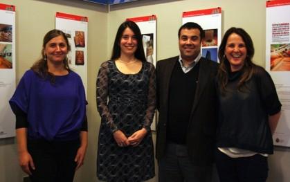 Bernardita Brancoli, Alejandra Amenábar, Francisco del Despósito y Paulina Artigas