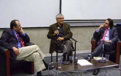 Eugenio Guzmán, Eugenio Tironi y José Francisco García