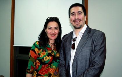 Lorena Sanhueza y Franco del Pino
