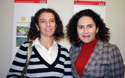 Marcela Verdugo y Patricia Bustamante