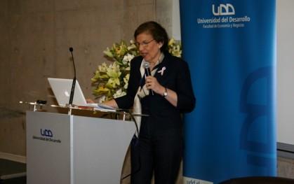 Olga Pizarro, autora del libro.