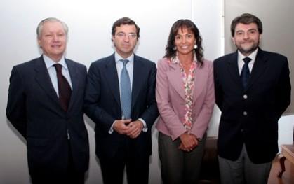 LIONEL OLAVARRÍA, IGNACIO ANTOÑANZAS, CAROLINA MARDONES Y RODRIGO DÍAZ