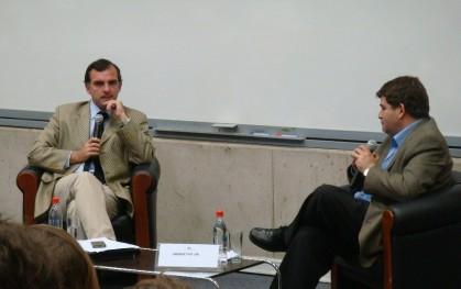 Ernesto Silva Méndez y Armando Roa