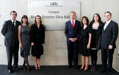 Ernesto Silva M., Ximena Alamos, Luz María Silva M., Federico Valdés, M. Cristina Méndez, Cristina Silva M. y Jorge Ferrando