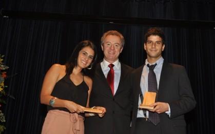 María Ignacia Benavente, Federico Valdés y Mario Hirmas.