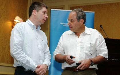 Francisco Santibañez y Bob Caspe