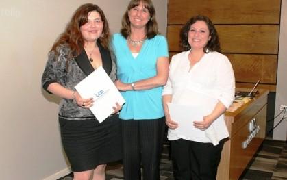 Mónica Figueroa, Déborah Pavesi,  Andrea Álvarez