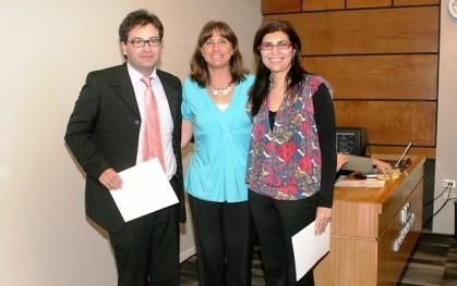 Pablo Fuentealba, Déborah Pavesi, Lesley Briceño