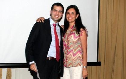 Rodrigo Torres y Florencia Jofré