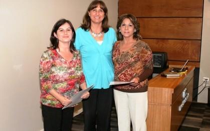 Soledad Portilla,  Deborah Pavesi,  Nelly Gómez