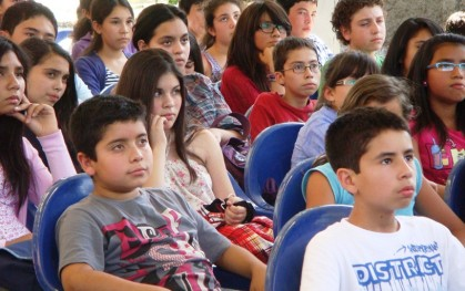 Alumnos Liceo San Pedro de Puente Alto