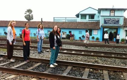 Alumnos en Calcuta 1
