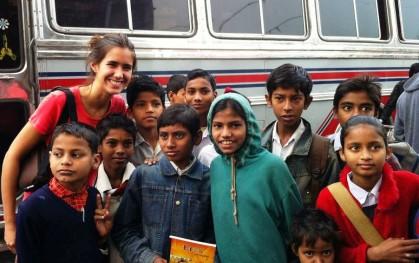 Alumnos en Calcuta 2