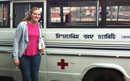 Alumnos en Calcuta 3