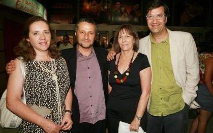 Ana María Díaz, Marcelo Ferrari, María Argentina Fernández y Álvaro Pacull