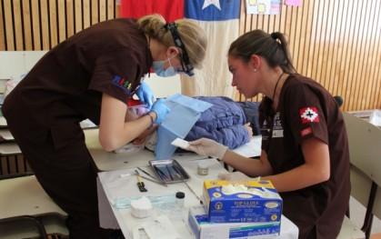 Atención dental en Curarrehue