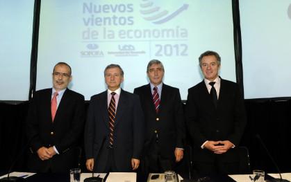 Rodrigo Valdés, Felipe Larraín, Cirilo Córdova y Federico Valdés.