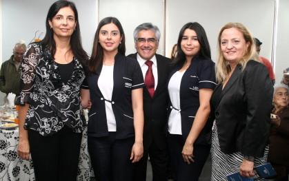 Florencia Jofré, Valentina Almendras, Luis Vicentela, Camila Simpson y Liliana Jadue
