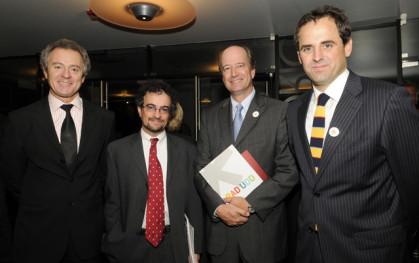 FEDERICO VALDÉS, JON BENJAMIN, CHARLES KIMBER y RODRIGO CASTRO
