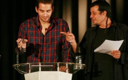 Felipe Morales y Roberto Baeza