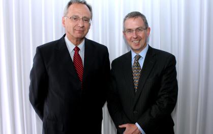 José Manuel Robles y Hernán Rodríguez