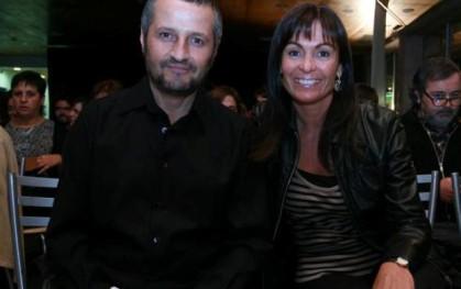 Marcelo Ferrari y Carolina Mardones