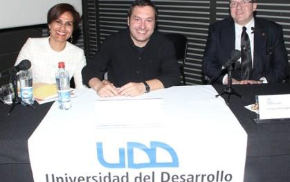 Sandra Esparza, Nicolás Li Calzi, Enrique Rovira-Beleta