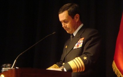 Cdte. en Jefe de la Armada, Edmundo González R.