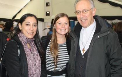 Cecilia Ponce, Ignacia Yussem y Julio Stragler