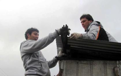 Gonzalo Muñoz y Jaime Weinborn